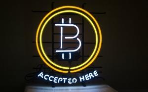 neon BitCoin
