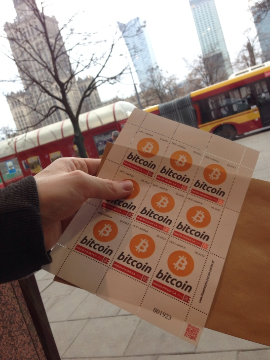 Bitcoin Stamps from Poland