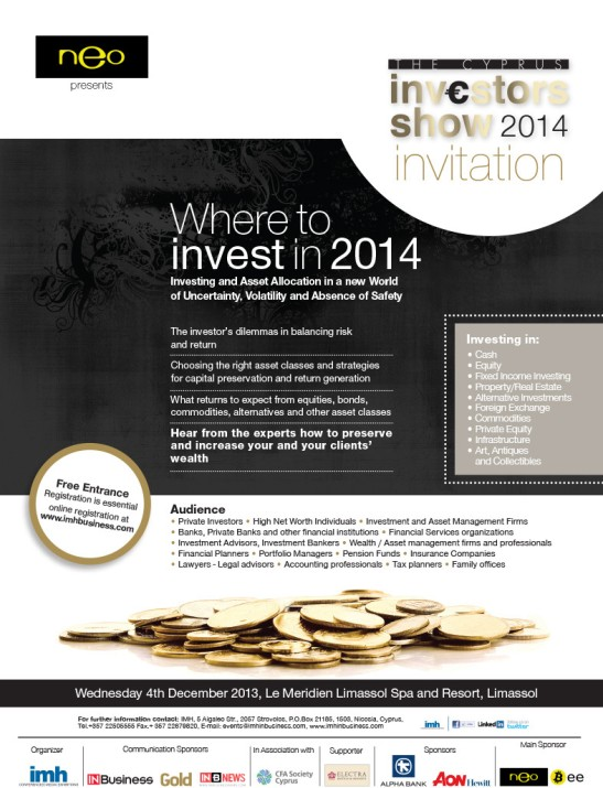 Neo And the Bee sponsor Investor SHow2014